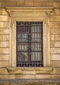 Old siclian window — Stock Photo