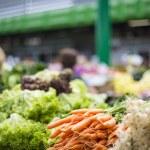 Fresh vegetables on the market — Stock Photo #49833151
