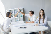People working in the office — Stock Photo
