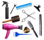 Hairdresser equipment — Stock Photo