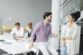 People working in office — Stock Photo