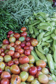 Vegetables at market — Stock Photo