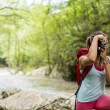 Young woman hiking — Stock Photo #51794691