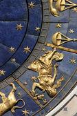 Astrologische klok — Stockfoto