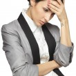 Business woman stressed — Stock Photo