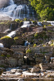 Tvindefossen waterfall, Norway — Stock Photo