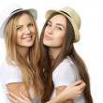 Two women friends having fun. — Stock Photo #39331411