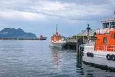 Norwegian Coastal Administration ships — Foto de Stock