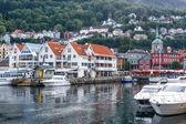Cityscape of Bergen, Norway — Stock Photo
