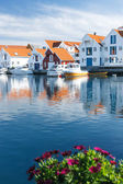 Skudeneshavn village in Norway — Stock Photo
