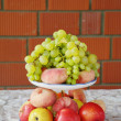 Festive fruit platter - Stock Photo
