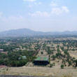 Stock Photo: View from pyramids at Teotihuacan