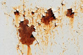 Cracked and rusty metal — 图库照片