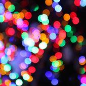 Borrosas luces de árbol de navidad — Foto de Stock