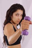 Fitness-training — Stockfoto