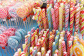 Sweets and candy — Stock Photo