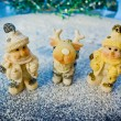 Stock Photo: Christmas figurines