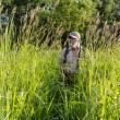 Tall grass in a meadow — ストック写真