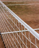 White tennis net — Stock Photo