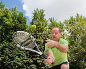 Game of tennis — Stock Photo