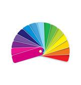 Swatches in rainbow vector — Stock Vector