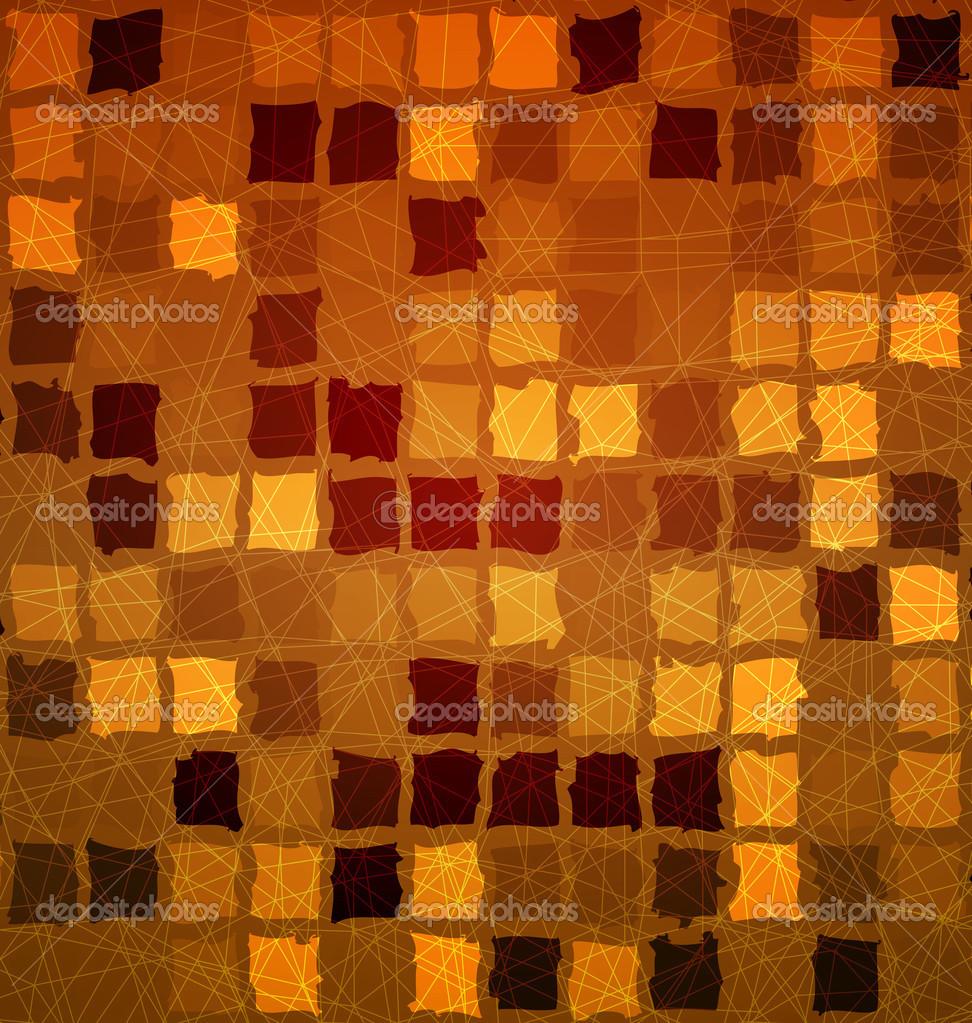 Tegel kakel orange med grunge — stock vektor © zebra finch #46296597