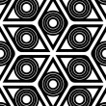 Geometrical rhombus seamless pattern — Stock Vector #47592961