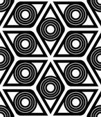Geometrical rhombus seamless pattern — Stock Vector