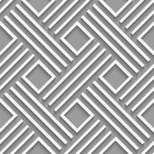 Gray crossed lines and squares seamless — Stockvektor