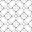Pattern with white and gray layers — Stock Vector #49548307