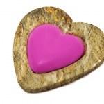 Stone heart — Stock Photo #12019692