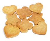 Shortbread biscuits — Stock Photo