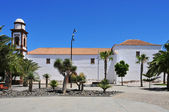 Church of Our Lady of Antigua in Fuerteventura, Canary Islands, — Stock Photo
