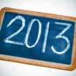 2013, new year — Stock Photo