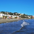 El Palo Beach in Malaga, Spain — Stockfoto