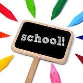School — Stock fotografie