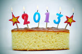 Ano novo de 2013 — Foto Stock
