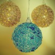 Christmas ball with a retro effect - 