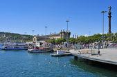 バルセロナ、スペインのポート vell — ストック写真