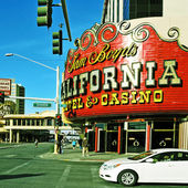 California Hotel and Casino in Las Vegas, United States — Stock Photo