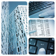 Business collage — Stock Photo #13593937