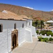 Cathedral Church of Saint Mary of Betancuria in Fuerteventura, C - Stockfoto