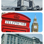 London collage — Stock Photo