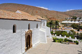 Cathedral Church of Saint Mary of Betancuria in Fuerteventura, C — Stock Photo
