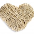 Rope heart — Stock Photo