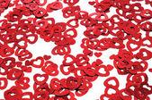 Cuori rossi — Foto Stock