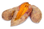 Roasted sweet potatoes — Stock Photo