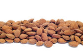 Shelled almonds — Stock Photo