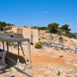 Fishing stores in Puntde SPedrerin Formentera, Balearic Is — Stock Photo #14096666
