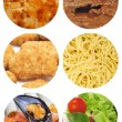 ������, ������: Food dishes collage
